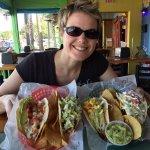 Amazing lunch spread! Great guacamole!