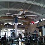 The Hangar diner rear view