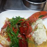 pan roast lobster