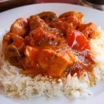 Chicken Pathia with Rice