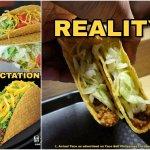Expectation VS SAD Reality
