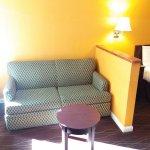 Hideaway Sofa in select rooms