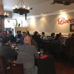 Great lunch today at Boccaccio we hosted people from 15 different country with great success 👍