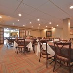 Westwinds Restaurant tables