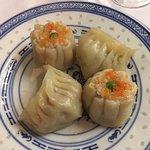 Xiao Mai con gamberi e ravioli al vapore