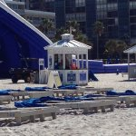 Hardest working folks! Michael Wilson was just so kind. Brightened up my morning. Cabanas really