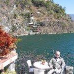 Relaxing at Casa del Mundo Terrace