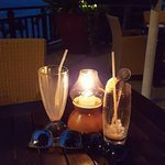 Lovely candlelight drinks at the TreeTops restaurant