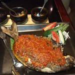 A must-try on the dinner menu - Spicy barbecued fish