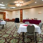 Reception Style Set Up in our Ballroom
