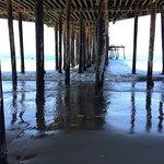 PIsmo Beach Pier, a short walk from hotel