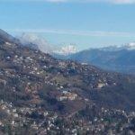 View Toward Mont Blanc