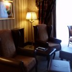 This is just a quick shot of the comforts in my Executive room