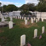 Military section of the Key West Cemetery