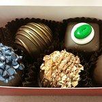 Chubby Chipmunk Hand-Dipped Chocolates