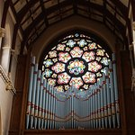 Organ and main rose window