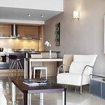 The Dragonara Luxury Bay Suites Living Room