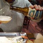 Bon repas .. Et la bière  des Rousses .  excellente .. serveuses très sympathiques   service rap
