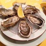 6 huîtres (3) du banc d'Arguin, pain de seigle