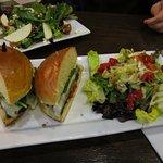 Grilled Porobello and Veggie Sandwich