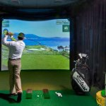 Indoor Golf School & HD Golf Simulator