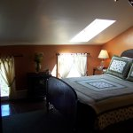 Keuka Room with it's skylight over the Queen bed; a great place to star-gaze on clear nights!