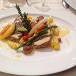 Pavé de ??, Saint Jacques et butternut : Poisson délicieux dont j'ai oublié le nom XD !