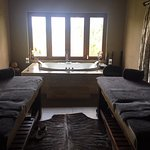 The spa treatment room