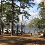 View from the RV park area