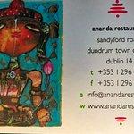 Ananda business card