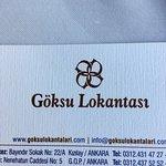 Photo of Goksu Restaurant