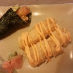 special order(they can make any kind of sushi and rolls even if they are not on menu)