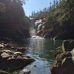 Big Falls, 15-20 up the road near Gaia
