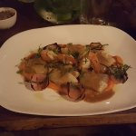 Crab and lobster tortellini