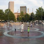 Centennial Olympic Park Fountain