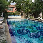The Graycliff Hotel's Mosaic Tile Pool