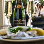 Oysters and Bubbles!!