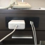 Newly renovated rooms. Outlet and USB ports on the nightstand.
