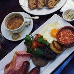 Full Irish Breakfast with Soda Bread toast