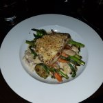 Truffle Parmessan Crusted Fish