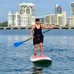 Me up on my Paddleboard! Thank you Luis!