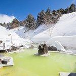 石庭露天風呂(冬)