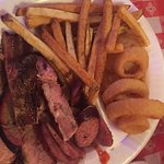 3 BBQ plate meat