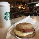 RFT = Reduced Fat Turkey Bacon Breakfast Sandwich and Pike Place