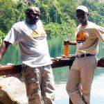 Mr Jamal & Mrindoko at Lake Chala