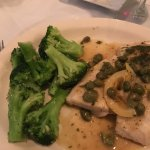 Fish special and steamed broccoli were to die for