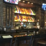 Bar and TVs at Firebirds!