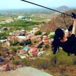 Five flights over a Fort-Palace: The world's first heritage zip line tour