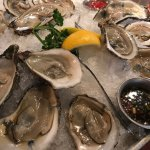 Blue point oysters and seafood gumbo!