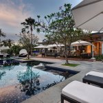 The Danna Langkawi - The Terrace oversees the swimming pool and Andaman Sea